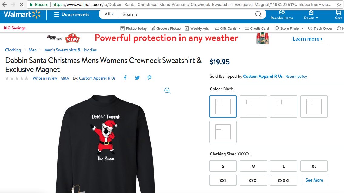 2 Chainz is suing Walmart for millions for stealing his Dabbing Santa Sweater and selling it -