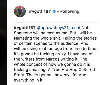 Irv Gotti reveals Murder Inc TV series is coming and he hired Narcos writer to help produce it -