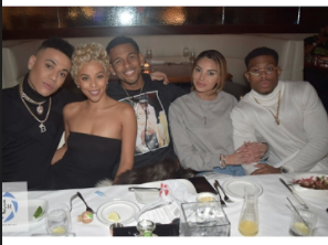 Gay Love and Hip Hop Miami couple Bobby Lytes and Prince spotted out at dinner -