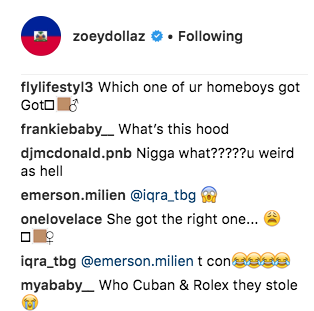 Miami rapper Zoey Dollaz fers $5K for anyone who has info on females who robbed him and his crew -
