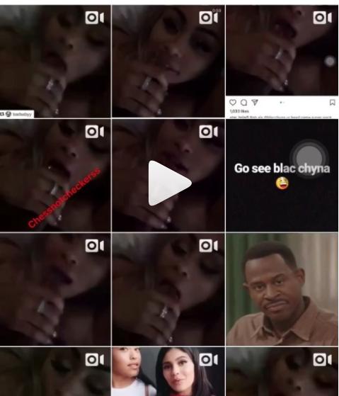 Blac Chyna sex tape is leaked by Cardi B's best friend Star Brim -