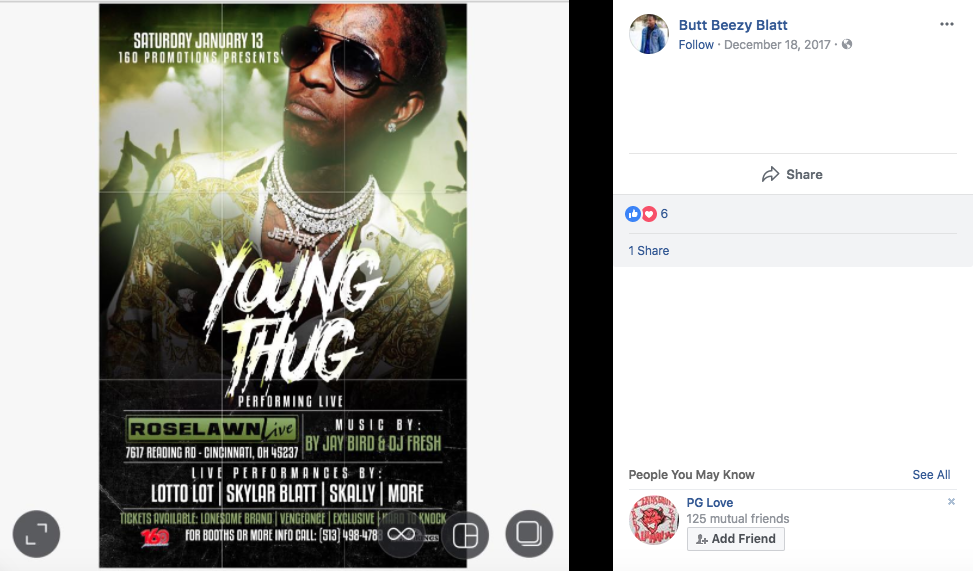 Cincinnati promoter claims Young Thug stole $40,000 from him after never doing concert he paid him for -