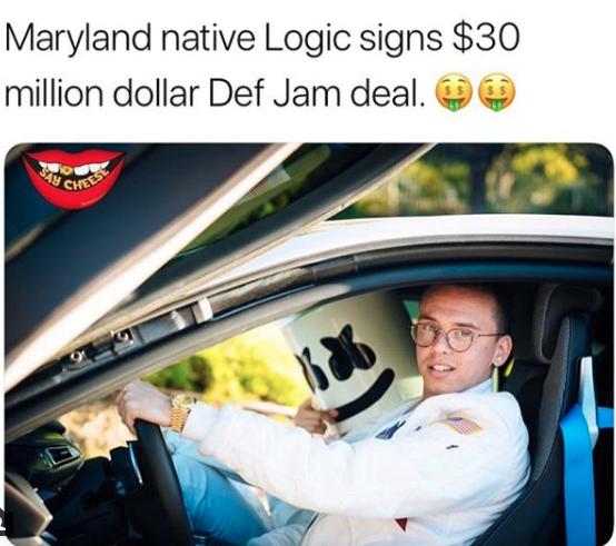 Logic signs $30 Million Dollar deal with Def Jam - HipHopOverload.com