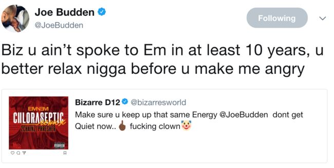 50 Cent promises to beat Joe Budden ass on Instagram when he see's him -