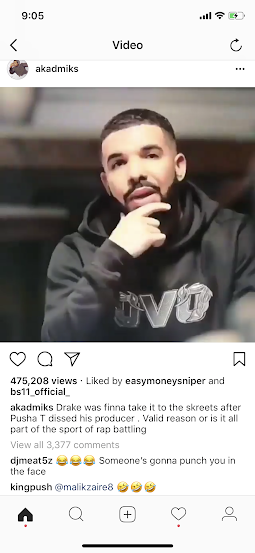 Drake tells Lebron James he is going to pung Pusha T in his face for wishing death on sick friend OVO 40 - HipHopHotness.com
