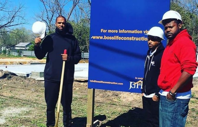 Slim Thug's Boss Life Construction restores abandoned homes giving them to Homeless and single parents for Free