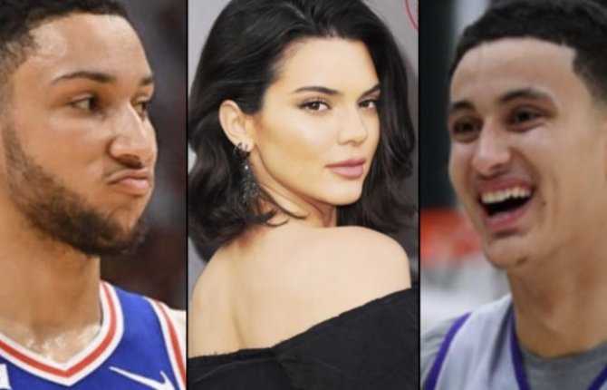 Kendall Jenner cheating on Ben Simmons with Laker star Kyle Kuzma pictures on a yacht together