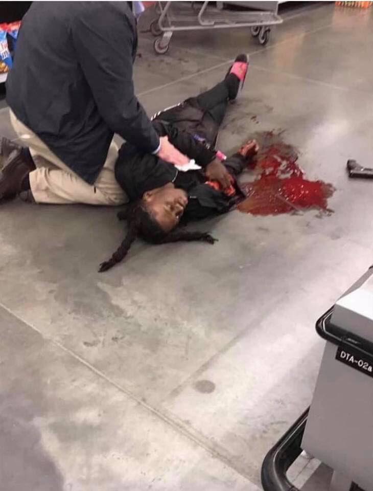 Popular Charlotte rapper Da Baby shot & killed a robber in Walmart Graphic photos inside - HipHopOverload.com