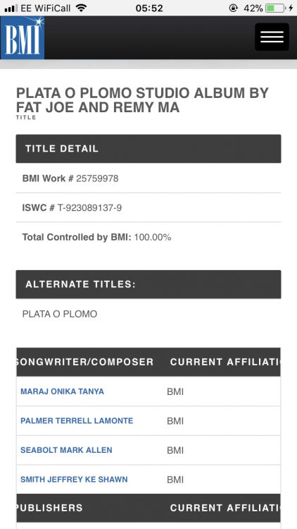 """Nicki Minaj's team reveals writer credits showing Nicki wrote for Remy Ma on """"Plata o Plomo"""" album - HipHopHotness.com"""