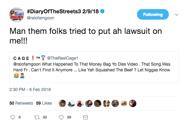 Ralo says MoneyBagg Yo filed a lawsuit forcing Ralo to take down his dis record - HipHopHotness.com