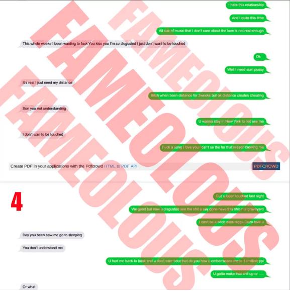 Cardi B text messages to OffSet making him have Nicki Minaj change her verse on Motorsport are leaked - HipHopHotness.com