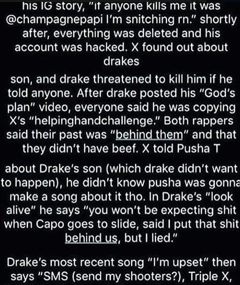 Tentacion Predicting Drake Would Kill Him