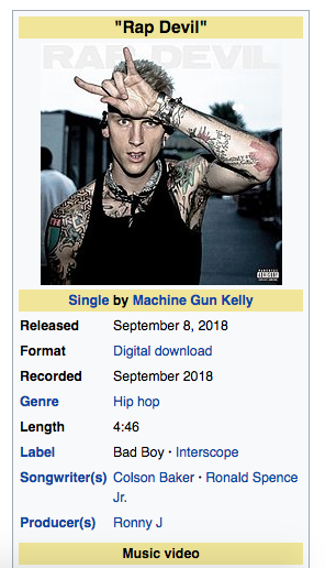 """Machine Gun Kelly gets exposed for having a ghost writer help him write """"Rap Devil"""" Eminem diss record - HipHopOverload.com"""