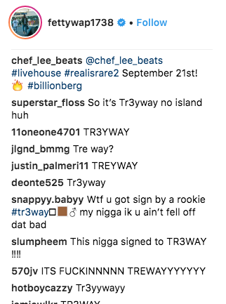 Fetty Wap signs record deal with 6ix9ine and Tr3Way leaving RGF and Nitt Da Gritt - HipHopOverload.com