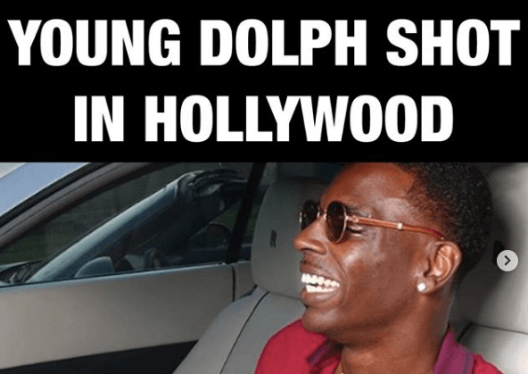 Young Dolph Shot several times in Hollywood rushed to hospital fighting for life