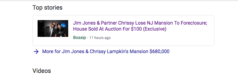 Jim Jones has not paid the mortgage on his $680,000 house for 10 years and lost it at auction for $100 dollars