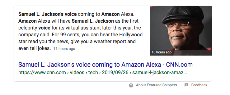 Samuel L Jackson will be the new voice for Amazon Alexa and he will curse