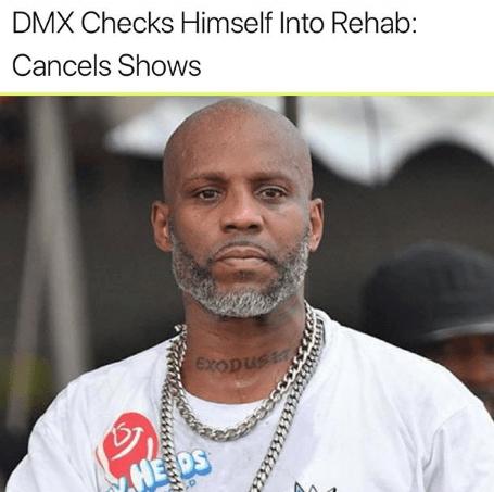 DMX found naked in car after Crack binge, checks self into Rehab