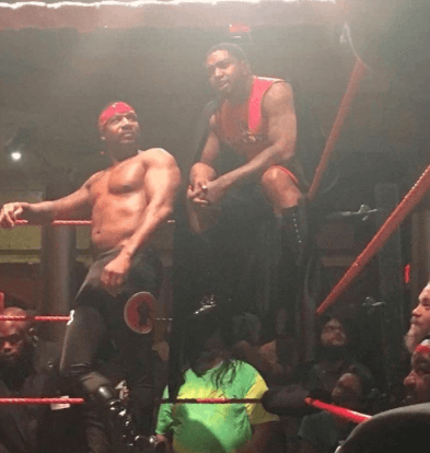 Master P owns Black Wrestling League where he made Lil Scrappy & Stevie J World champions