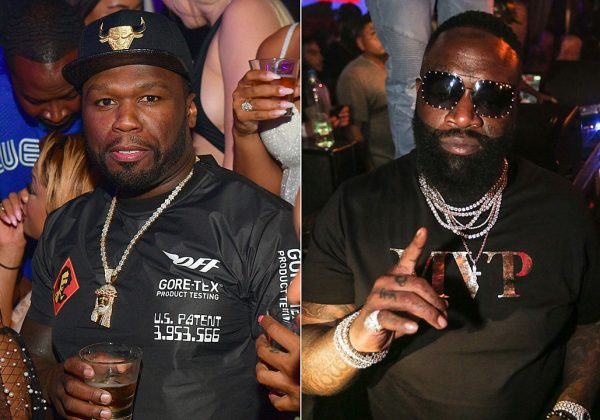 Video of Rick Ross saying 50 Cent music is Trash and he will
