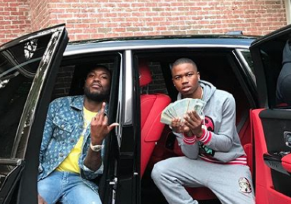 Million Dollar Cars >> Meek Mill signs Roddy Ricch to Dream Chaser records ...