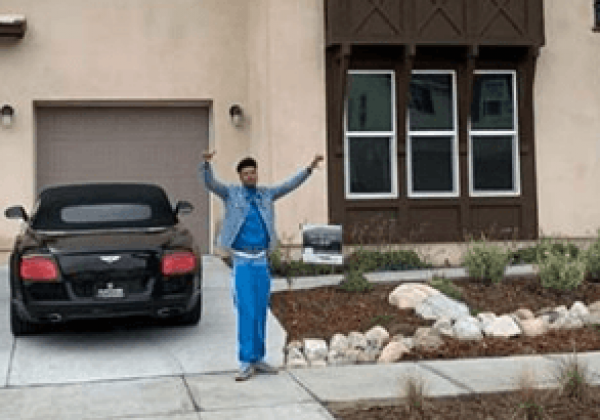 Biggest House Ever >> Ghost spirit spotted in BlueFace new $1.2 Million house he ...