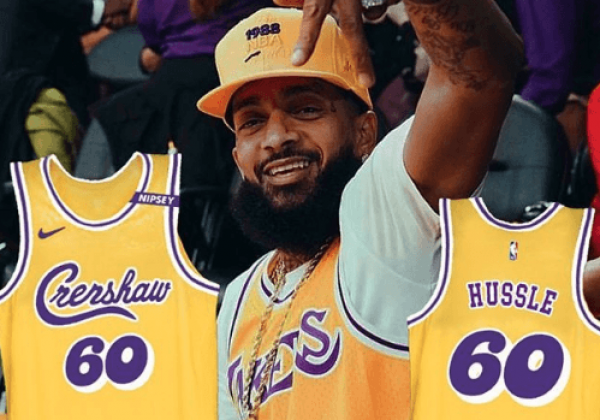 official photos 13aa2 f65f9 Los Angeles Lakers will honor Nipsey Hussle with special ...