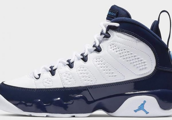 "buy online a5eec 984cb Air Jordan 9 ""UNC"" Revives Classic ""Pearl Blue"" Colorway From 2002"