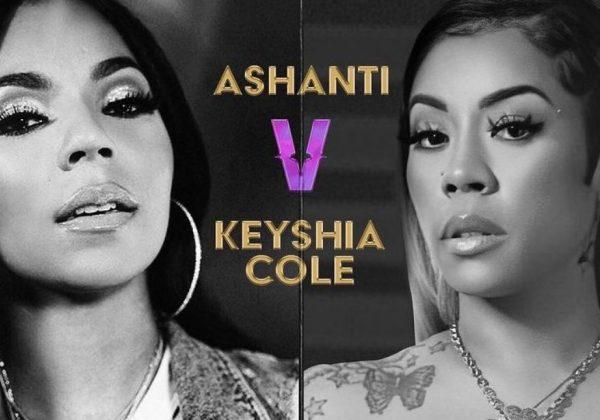 Ashanti Verzuz Keyshia Cole is canceled after Ashanti test positive for Covid-19 - HipHopOverload.com