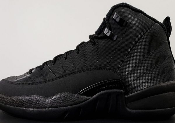 11614d3fa70f ... coupon for first look at the air jordan 12 winterized triple black  94819 5e47e