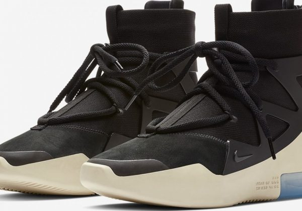best sneakers a8140 5b22c Official Images Of The Nike Air Fear Of God 1 In Black