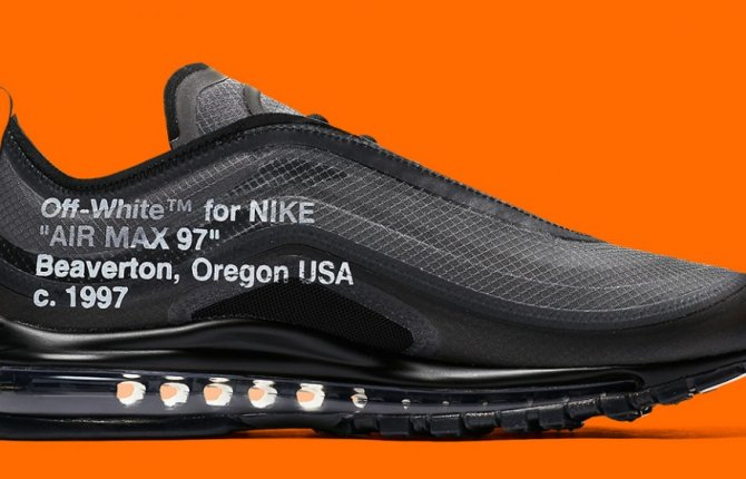 Official Images Of The Off White X Nike Air Max 97 In Black