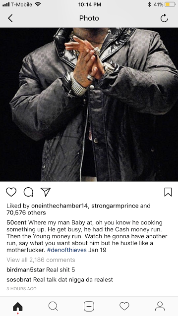 Birdman will executive produce 50 Cent's next album which will include a Rick Ross diss track -