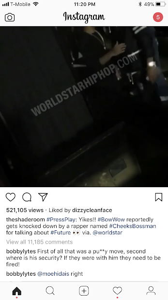 Love & Hip Hop gay rapper Bobby Lytes calls Future and his artist Cheeks Bossman pussies for sneaking Bow Wow - HipHopHotness.com