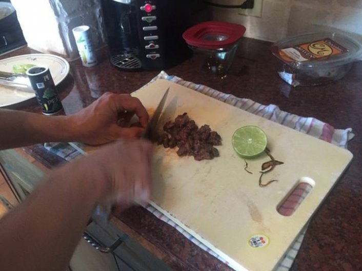 Man tricks friends by serving them his own amputated foot as Taco Meat pictures inside - HipHopOverload.com
