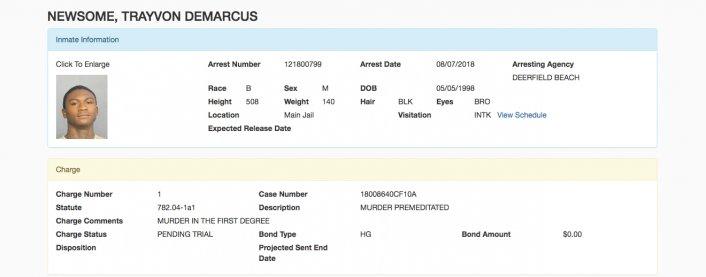 Second gunmen in the murder  XXXTentacion Trayvon Newsome arrested - HipHopHotness.com